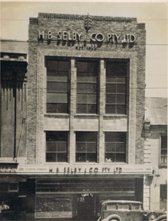 H.B. Selby & Co. offices at 393 Swanston Street, Melbourne