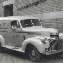 H.B. Selby & Co – Delivery van for the Swanston Street office, Melbourne