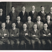 H.B. Selby & Co Staff Photo, Melbourne, 1937